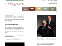 JACOB MATZ website screenshot