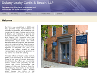 J BROOKS LEAHY website screenshot