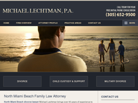 MICHAEL LECHTMAN website screenshot