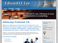 EDWARD LEE website screenshot