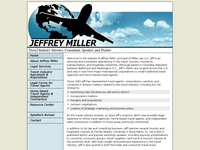 JEFFREY MILLER website screenshot