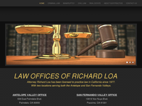 RICHARD LOA website screenshot