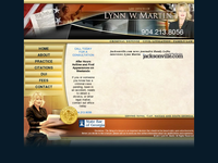 LYNN MARTIN website screenshot
