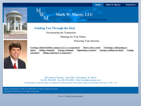 MARK MACOY website screenshot