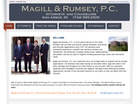 ROBERT MAGILL JR website screenshot