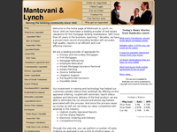 ANDREW MANTOVANI website screenshot