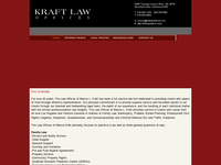 MARCIA KRAFT website screenshot