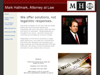 MARK HALLMARK website screenshot