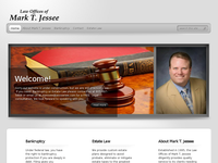 MARK JESSEE website screenshot