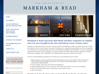 JOHN MARKHAM website screenshot