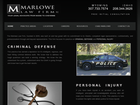 CHAD MARLOWE website screenshot