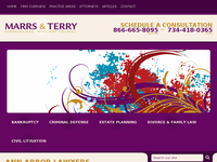 TRICIA TERRY website screenshot