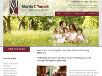 MARTIN YARNELL website screenshot