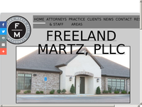 M REED MARTZ website screenshot