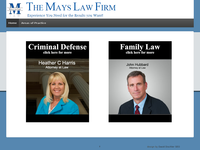 STEPHEN MAYS website screenshot