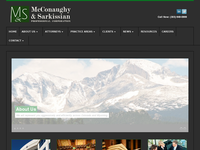 RONALD MC CONAUGHY website screenshot
