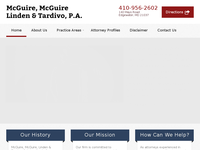 JAMES MC GUIRE website screenshot
