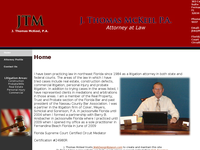 J THOMAS MC KEEL website screenshot