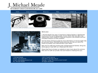 J MICHAEL MEADE website screenshot
