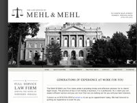 RYAN MEHL website screenshot