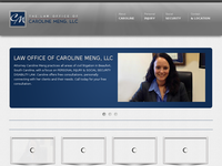 CAROLINE MENG website screenshot