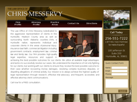 CHRIS MESSERVY website screenshot