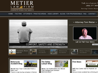 TOM METIER website screenshot