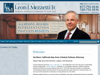 LEON MEZZETTI JR website screenshot