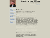 MICHAEL DUNLEVIE website screenshot