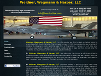 LARRY WEIDNER II website screenshot