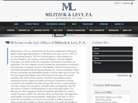 MATTHEW MILITZOK website screenshot