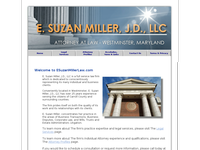E SUZAN MILLER website screenshot