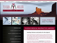 DANIEL P MILLER website screenshot