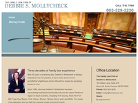 DEBBIE MOLLYCHECK website screenshot
