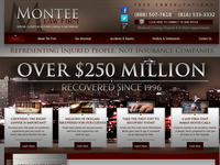 JAMES MONTEE website screenshot