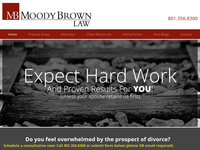 MARILYN MOODY BROWN website screenshot
