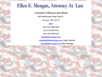 ELLEN MORGAN website screenshot
