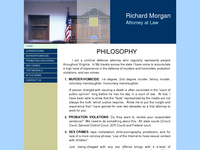 RICHARD MORGAN website screenshot
