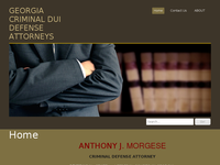 ANTHONY MORGESE website screenshot