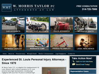 TAYLOR MORRIS website screenshot