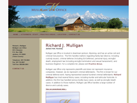 RICHARD MULLIGAN website screenshot