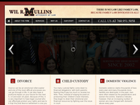 WIL MULLINS website screenshot