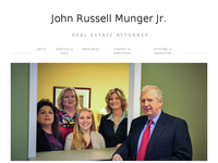 JOHN MUNGER JR website screenshot