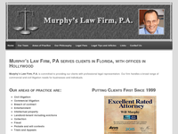 WILL MURPHY website screenshot