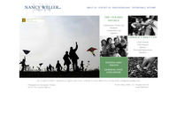 NANCY WELLER website screenshot