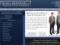 P RANDOLPH NICHOLSON website screenshot