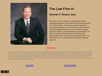 NORMAN NIVENS website screenshot