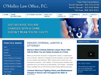 TERRY O'MALLEY website screenshot