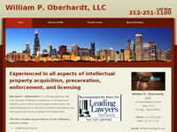 WILLIAM OBERHARDT website screenshot
