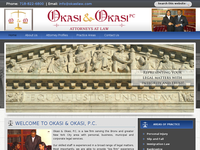 STEVE OKASI website screenshot